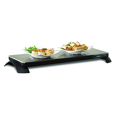 4. Salton TWT-30 S800-Watt Warming Tray