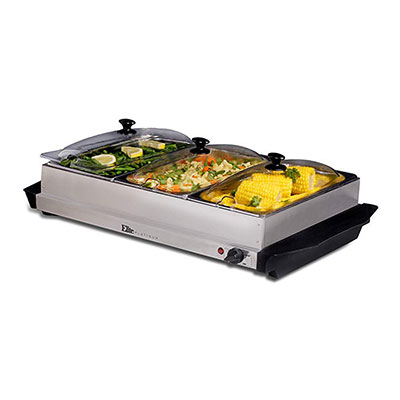 9. Elite Platinum EWM-6171 Food Warmer
