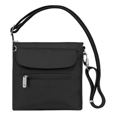 6. Travelon Anti-Theft Classic Mini Shoulder Bag, Black, One Size