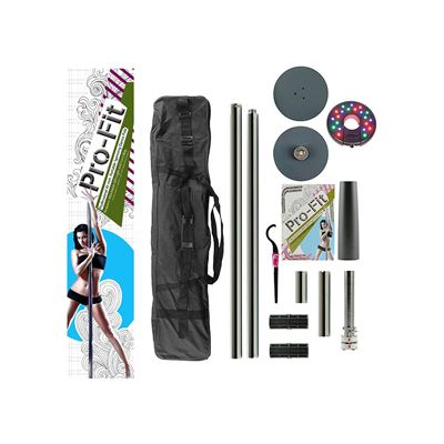 3. Pro Fit Professional Portable Spinning Dance Pole