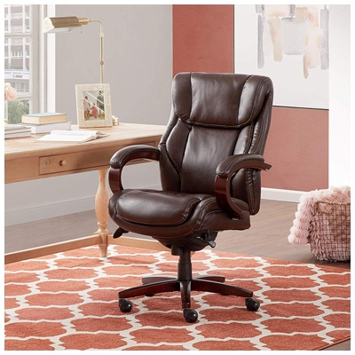 8. La-Z-Boy Bellamy Executive Bonded Leather Office Chair