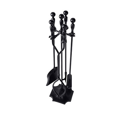 10. 5 Pieces Fireplace Tools Set by AMAGABELI GARDEN and HOME
