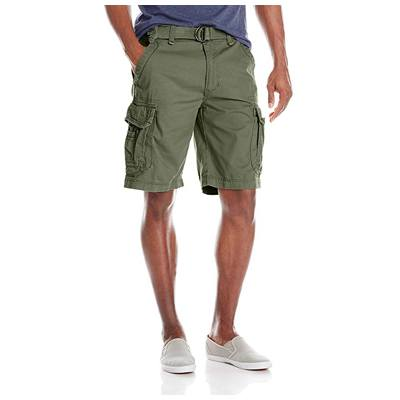 5. UNIONBAY Men's Survivor Belted Cargo Short-Reg and Big & Tall Sizes