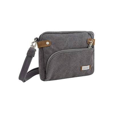 10. Travelon Anti-theft Heritage Crossbody Bag, Pewter