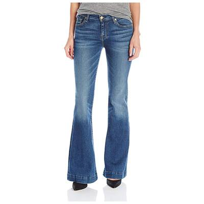 8. 7 For All Mankind Women's Flare Wide Leg Jean