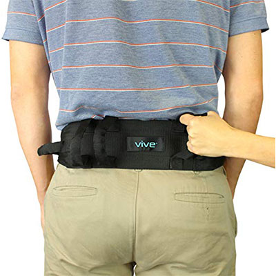10. Vive Transfer Gait Belt with Handles