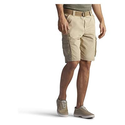 8. LEE Men's Dungarees New Belted Wyoming Cargo Short