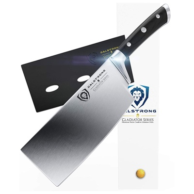 3. DALSTRONG Cleaver - Gladiator Series - German HC Steel - 7