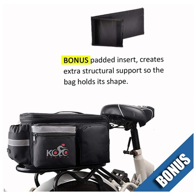 2. UPGRADE Aug '19: Bike Pannier Bag |