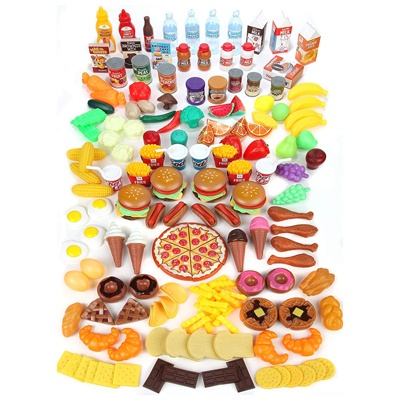 7. Mommy Please Play Food Set for Kids