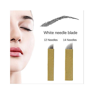 6. Microblading Needles - Yuelong 50pcs Needles