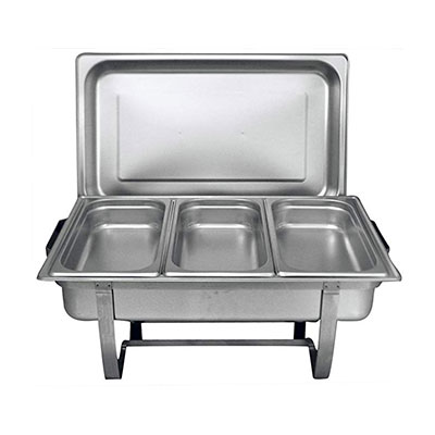 5. Tiger Chef 8 Quart warming trays for buffets