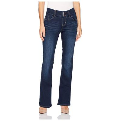 5. Riders by Lee Indigo Women's Pull-on Waist Smoother Boot Cut Jean