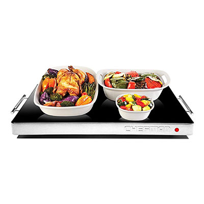 8. Chefman Electric Warming Tray
