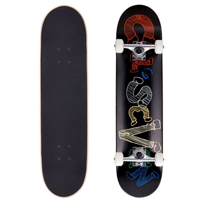 10. Cal 7 Complete Skateboard, 7.5, 8 Inch