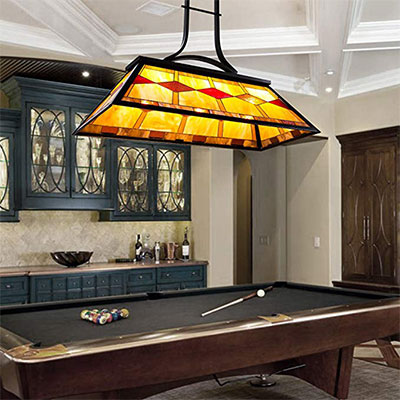 8. CO-Z Pool Table Light