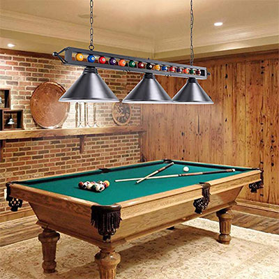 10. Pool Table Light by Wellmet