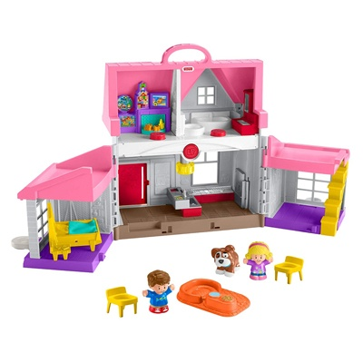 4. Fisher-Price Little People Big Helpers Home