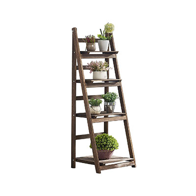 2. RHF Foldable Ladder-Shelf Plant Stand