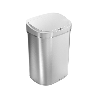 8. Ninestars DZT-80-35 Automatic Touchless Infrared Motion Sensor Trash Can