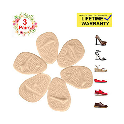 2. Metatarsal Pads by kamuft