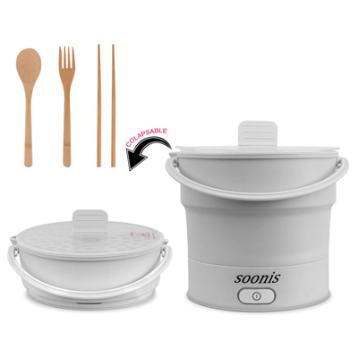 7. Soonis Portable Electric Skillet Voltage 100V-240V
