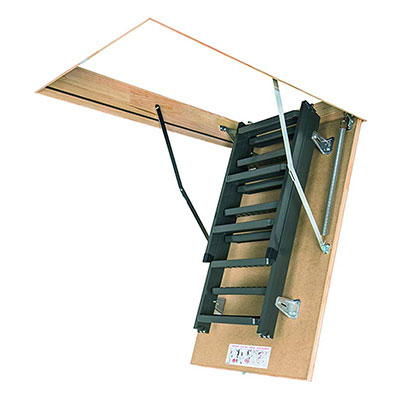 7. FAKRO 66869 LMS Insulated Steel Attic Ladder