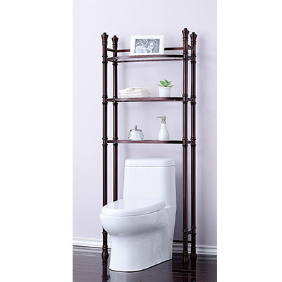 8. Best Living Monaco Bathroom Etagere Shelf – Oil Rubbed Bronze