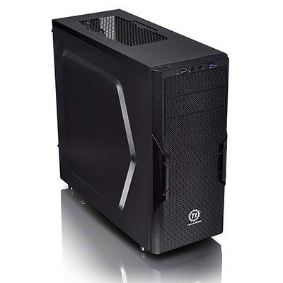 5. Thermaltake Versa SPCC ATX Mid Tower Computer Chassis (H22)