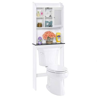 2. Best Choice Products Over-The-Toilet Storage Cabinet