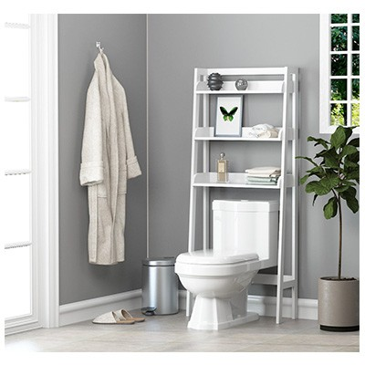 9. UTEX 3-Shelf Bathroom Organizer Over The Toilet