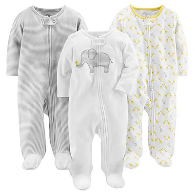 10. Simple Joys by Carter's Baby 3-Pack Sleep and Play