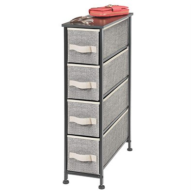5. mDesign Narrow Vertical Dresser Storage Tower Review