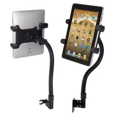 9. Tablet Mount for Car, Hands-Free Robust Seat Rail Tablet car Holder