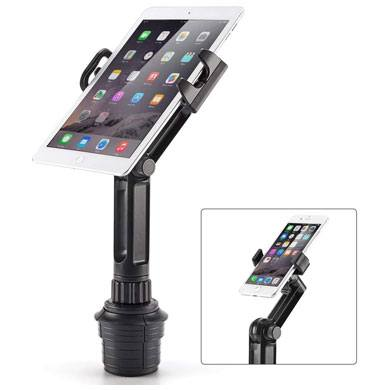 1. Cup Mount Holder iKross 2-in-1 Tablet and Smartphone Adjustable Swing Cradle