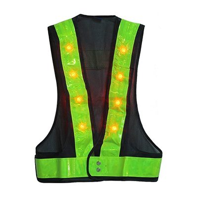 7. YOA 16 LED Light Reflective Gear for Night Safety