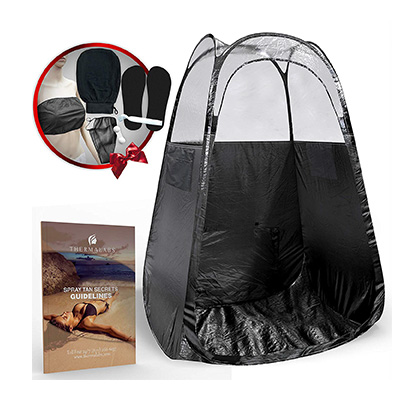 4. Spray Tan Tent (Black) by Thermalabs
