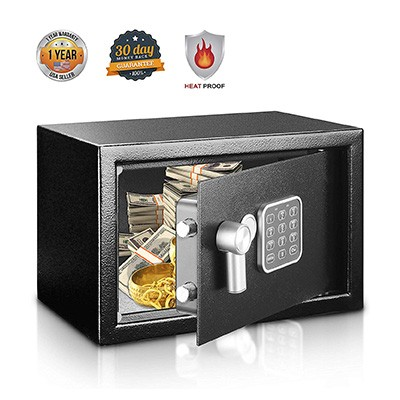 5. Safe and Lock Box by SereneLife