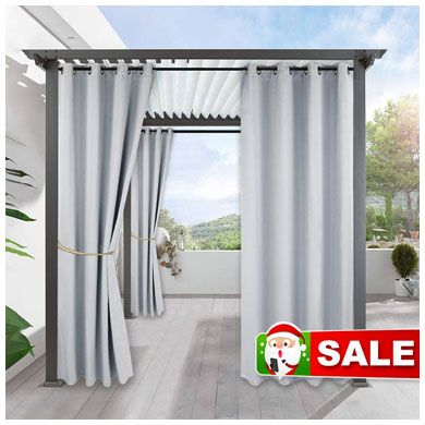 5. Outdoor Curtains 108 inch Long