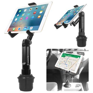 3. Cup Holder Tablet Mount, Tablet Car Cradle Holder Made by Cellet
