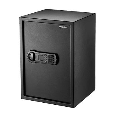6. AmazonBasics Home Safe - 1.8 Cubic Feet