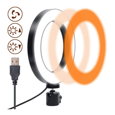 5. Gemwon Ring Light 6 Inches