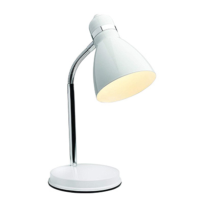 5. Newhouse NHDK-OX-WH Oxford Desk Lamp
