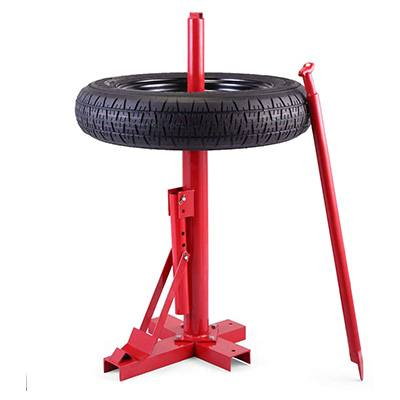 6. JAXPETY Red New Tools Manual Tire Changer