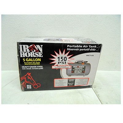 3. Iron Horse IHCT-05 5-Gallon 150 PSI Max Air Tank