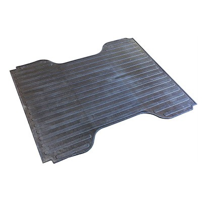 5. Westin 50-6355 Black Rubber Truck Bed Mat