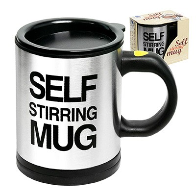 10. Self Stirring Coffee Mug Cup by Chuzy Chef