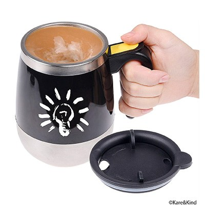 2. Self stirring coffee mug by Kare & Kind