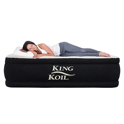 9. King Koil Luxury Raised Airbed