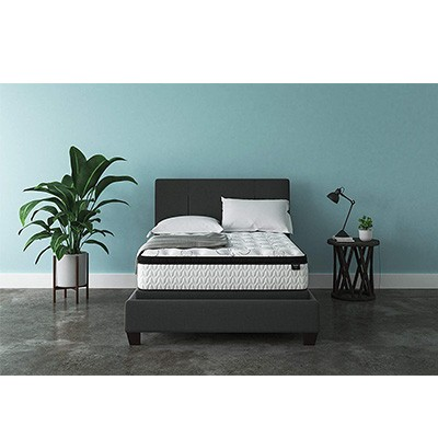 4. Signature Design by Ashley Chime Bed in a Box - Full – White